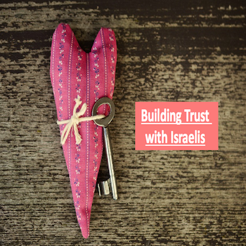 Building Trust With Israelis